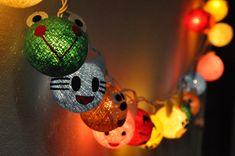 Новый год на Sees-All-Colors: Гирлянды Smile Cotton