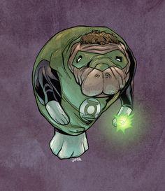 Green lantern!  Flash maybe my favorite though...