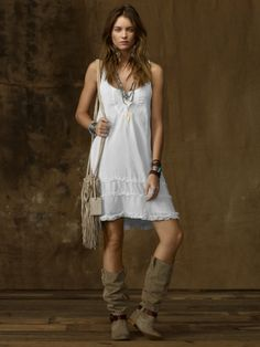 Ralph Lauren tiered tank dress- so cute