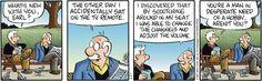 Pickles Comic Strip, July 15, 2014 on GoComics.com - butt remote