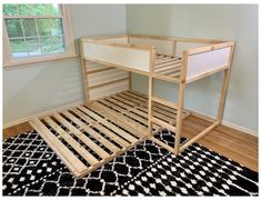 Ikea Twin Bed, Ikea Bunk Bed Hack, Ikea Toddler Bed, Ikea Kura Hack, Toddler Bunk Beds, Kura Bed, Kid Beds, Bed Ikea, Queen Bunk Beds
