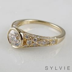 Sylvie Collection is designed by a woman for a woman. Sylvie creates diamond engagement rings with the highest standards of craftsmanship, detail & quality Designer Engagement Rings, Diamond Engagement Rings, Just Engaged, Conflict Free Diamonds, Cute Jewelry, Diamond Shapes, Ring Designs, Gold Rings, Wedding Rings