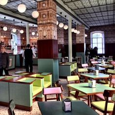 Wes Anderson's Bar Luce in Milan