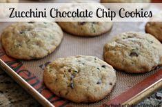 recipe zucchini chocolate chip cookies