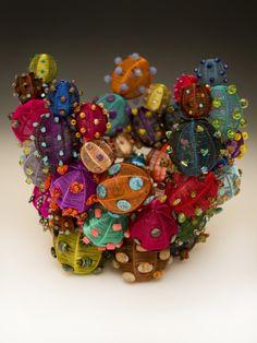 sculptural basket by Tristyn Albirght