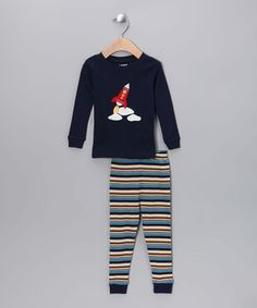Space Rocket Pyjama Set - Infant, Toddler & Kids by Leveret Sleepwear. on #zulilyUK today!