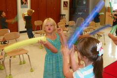 Mrs. King's Music Room: Steady Beat Swords/light sabers
