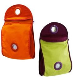 Amazon.com: Orka by Mastrad Bag Dispenser, Green & Purple: Patio, Lawn & Garden