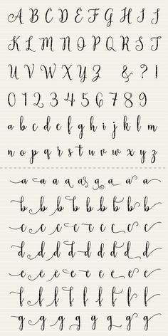 Full Alphabet SVG Fonts Cutfile - Modern Handwritten Script cricut font DXF EPS - Silhouette Cameo & Cricut - clean cutting digital files PLEASE NOTE that this is NOT font-software Alphabet Cursif, Calligraphy Fonts Alphabet, Handwriting Alphabet, Hand Lettering Alphabet, Cute Fonts Alphabet, Handwritten Fonts, How To Write Calligraphy, Graffiti Alphabet, Cute Cursive Font