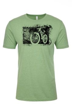 It's what you feel when you start down the trail and leave the world's troubles behind, relief. It's also the corner stone of this tee, showcasing a relief print of one of our favorite downhill bikes.