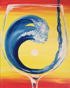 Paint Nite. Drink. Paint. Party! We host painting events at local bars. Come join us for a Paint Nite Party! #canvaspaintingwine