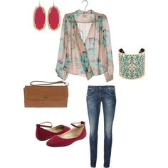 """Interesting combo. I kind of like it. """"Untitled #22"""" by visionsofsugarplums on Polyvore"""