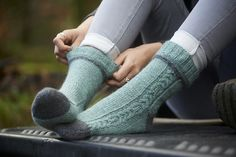 Morwenstowe Socks by Sonja Bargielowska on Ravelry   knitting patterns yarn knit socks