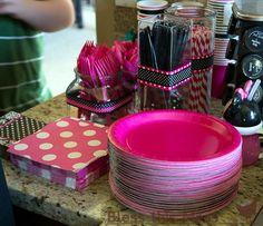 Minnie party flatware