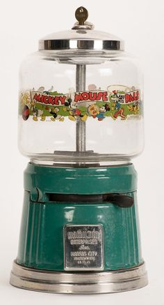 Mickey Mouse Gumball Machine by Hamilton, 1940