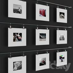49 Lovely Diys Photo Collages Ideas If you create a photo collage poster as the center piece decoration for your next special occasion, it will be […] Collage Poster, Collage Frames, Photo Wall Collage, Picture Wall, Photo Collages, Exhibition Display, Hanging Pictures, Collage Pictures, New Wall