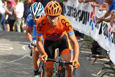 Is this the final season? (Photo: Davide Rebellin (CCC Sprandi Polkowice) would finish third)