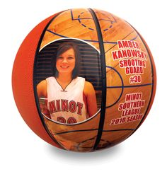 Gift for Coach Huxen (take photos of this year's season and attach them to a basketball