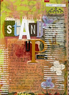 Standup Ali Edwards another good prompt