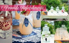 10 Ways to Keep your Wedding Guests Happy! >> http://www.yesbabydaily.com/blog/10-ways-to-make-your-guests-happy