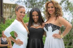 Ione Rucker Jamison, Ellen Rucker Carter and Ruby Rucker Cooper. They will be on Reality TV this fall, too.