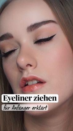 Simple Makeup Looks, Makeup Eye Looks, Eyeliner Looks, Pencil Eyeliner, Eye Makeup, Eyeliner Wing, Simple Eyeliner Tutorial, Winged Eyeliner Tutorial, Daily Makeup