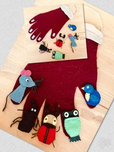 Hand Puppets, Finger Puppets, Story Time, Christmas Stockings, Diy And Crafts, Kindergarten, Preschool, Hobbit, Holiday Decor
