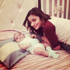 Alia Bhatt Snapped with a Mysterious Baby
