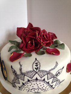 Rosecake, rostårta