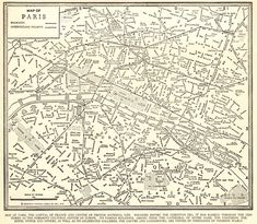 1937 Antique Street MAP of PARIS France Paris Street Map Black and White Wall Art Anniversary Gift For Birthday Wedding Graduation 11665 by plaindealing on Etsy France City, France Map, Paris France, World Map Decor, Paris Map, Framed Maps, Black And White Wall Art, Kids Room Art, Vintage Paris
