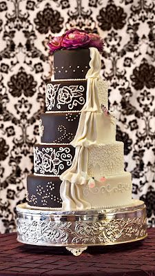 another half and half cake idea...