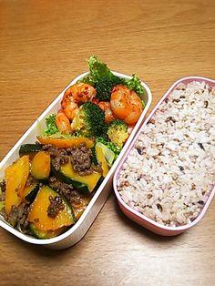 雑穀米のお弁当
