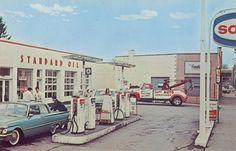 Standard Oil Gas Station, Parma, Ohio