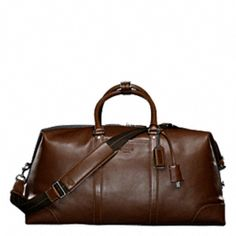 Coach Transatlantic Travel Carry-on - Timeless classic that has been around for decades.