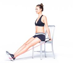 Sculpt Your Body in Six Easy Moves: Step 1. Want a perky butt? Work your ltaissimus dorsi with the 'Plow.' Click through for how to do the move! #SelfMagazine