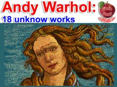 Andy Warhol unknow art works #andywarhol #warhol #painter #painters #art #artwork #artworks #artist #artists