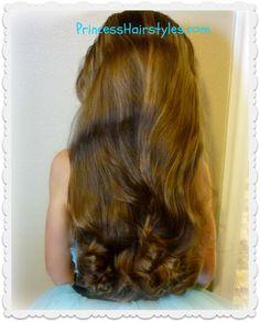 No-heat curls tutorial using bun maker