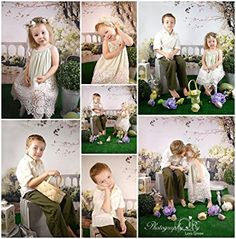 Amazon.com : SUSU Scenic White Flowers Photography Backdrops 5x7ft Brick Floor Family Balcony Tree Photo Background for Children Studio Video : Electronics