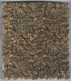 Wood block for textile printing | Late 19th century – early 20th century.