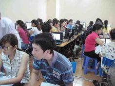 Lớp học kế toán thực hành trên Excel