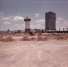 Caesars Palace under construction 1965
