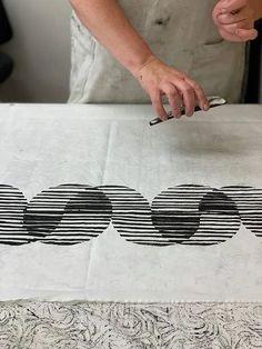Stamp Printing, Screen Printing, Ink Block, Pattern Design, Print Design, Linoleum Block Printing, Fabric Stamping, Carving Designs, Linocut Prints