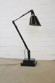Industrial+Desk+Lamp+By+Walligraph+Circa+1940 Vintage Industrial Lighting, Industrial Desk, Desk Lamp, Table Lamp, Home Decor, Lamp Table, Decoration Home, Industrial Office, Office Lamp