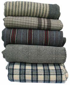 tweed blankets