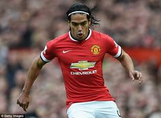 Fifteen years on from making his debut as a 13-year-old, Falcao reached England by joining Manchester United