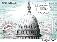 Political Shooting by cartoonist Joe Heller published on 2017-06-14 17:35:29 at Cagle.com. Joe Heller has been the editorial cartoonist for the Green Bay Press-Gazette since 1985, before t…