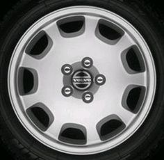 Icarus 16 x 7 Volvo #8622748 (color 938 Silverstone), Offset 49mm, 8.2 kg, stamped 8623855