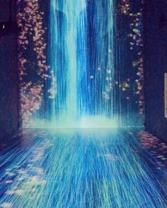 An interactive waterfall of light pours down from the ceiling in @pacegallery's latest installation by art group @teamlab_news opening tomorrow. #londonexhibitions #interactiveart #technology #lightingdesign  via WALLPAPER MAGAZINE OFFICIAL INSTAGRAM - Fashion Design Architecture Interiors Art Travel Contemporary Lifestyle