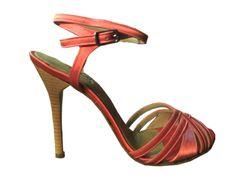 SOY PORTEÑO- 96 Raso Coral 2 :: $189.99 www.argentinatangoshoes.com/women #argentina #tango #dance #shoes #women
