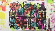 Stretch your stencil by turning it -- Carolyn Dube